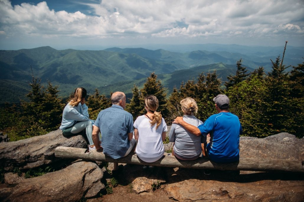 Family Hiking in the Asheville Mountains